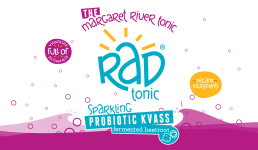 rad tonic label