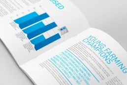 Art4Agriculture company profile brochure design