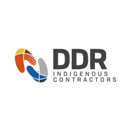 ddr indigenous logo design