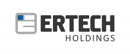Ertech holdings logo design