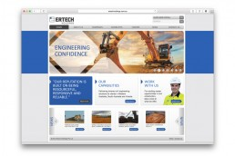 ertech website design