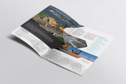 ertech branding brochure design