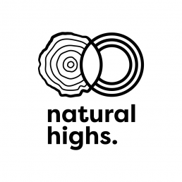 natural highs logo design