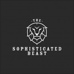 sophisticated beast logo design