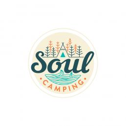 soul camping logo design