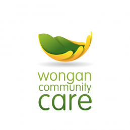 Wongan Community Care Logo Design