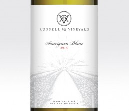 RRV wine label design