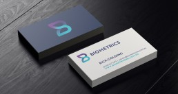 biometrics business card design
