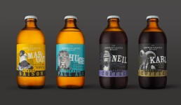 sophisticated beast bottle label designs